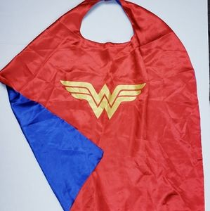 Kids wonder woman cape